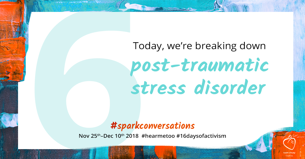 Today, we're breaking down post-traumatic stress disorder