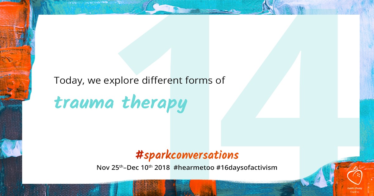 Today, we explore different forms of trauma therapy
