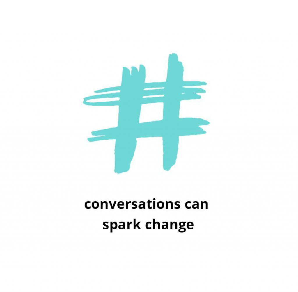 Conversations can spark change